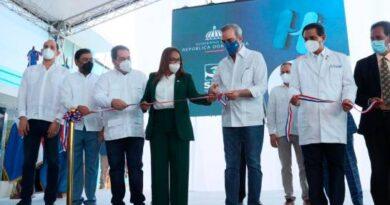 Abinader deja en funcionamiento emergencia del Hospital San Vicente de Paul en Duarte