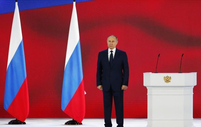"ALERTA:Putin advierte a Occidente que no cruce la ""línea roja"""