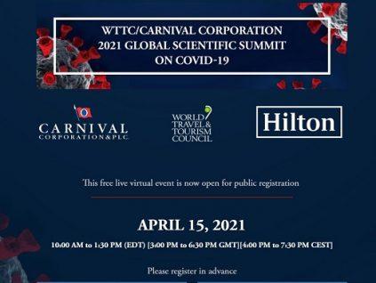 Gigantes de la hotelería y los cruceros respaldan Cumbre Científica Global sobre el Covid-19