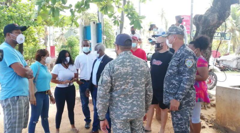 Comerciantes de playa Punta Popy solicitan flexibilizar toque de queda