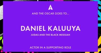 Daniel Kaluuya gana como mejor actor de reparto