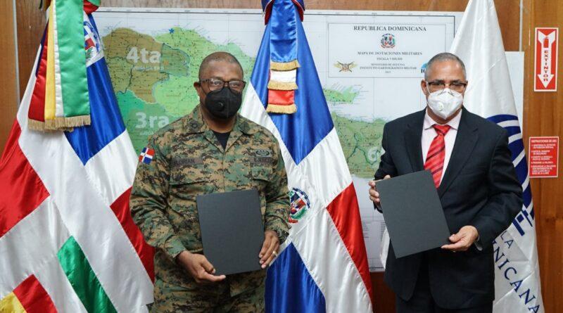 Desarrollo Fronterizo y Ejército de la República Dominicana firman acuerdo interinstitucional