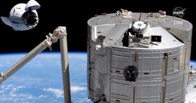 Elon Musk está emocionado Los astronautas de SpaceX llegan a la ISS