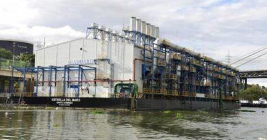 INSAPROMA notifica a la SIE, CNE y distribuidoras de electricidad la solicitud a Medio Ambiente de revocación de la licencia de la barcaza del río Ozama
