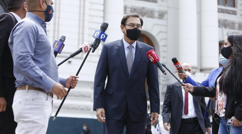 La Justicia peruana reiteró su rechazo a la petición de prisión preventiva contra Vizcarra por el caso Lava Jato
