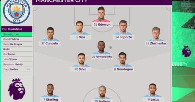 Puntaje del Man City vs Leeds United predicho por la simulación de FIFA 21