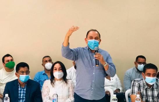 Radhamés Jiménez: asambleas de Fuerza del Pueblo buscan afiliar un millón de personas