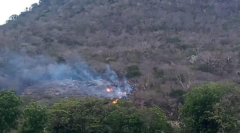 «Serán sometidos a la justicia» advierte Jorge Mera a responsables de incendio en Elías Piña
