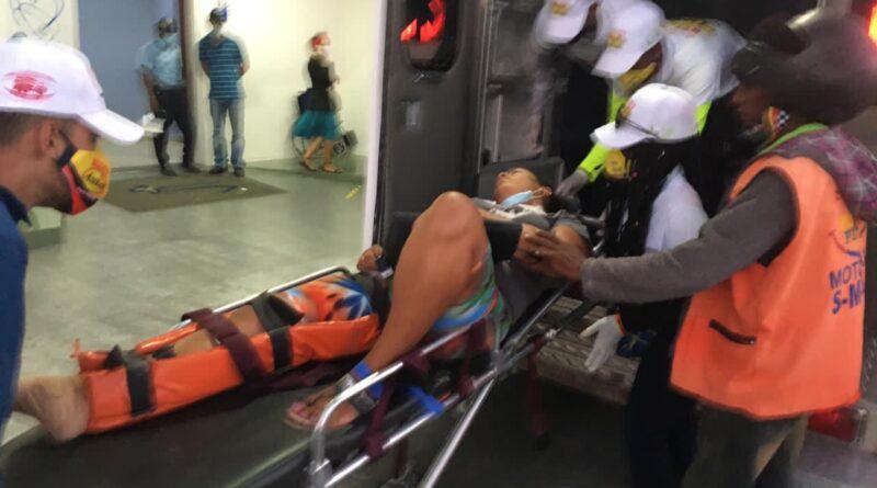 Un muerto y nueve heridos por múltiples accidentes ocurridos en Puerto Plata durante el Jueves Santo