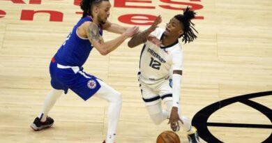 Clippers tiran de garra para remontar sin sus estrellas a los Grizzlies