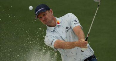 Justin Rose sorprende en una difícil primera ronda del Masters