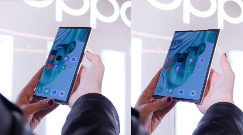 Oppo X 2021, toma de contacto del smartphone de pantalla extensible