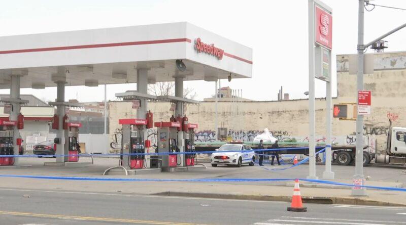 Un motorista dominicano asesinado y otro herido en estación de gasolina del Alto Manhattan
