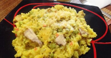 Receta de Arroz con pollo venezolano