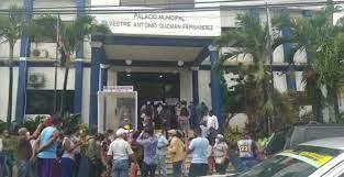 Se registra incidente en Ayuntamiento SDO por Presidencia Sala Capitular
