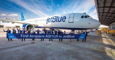 Jetblue incorpora su primer Airbus A321 para los vuelos trasatlánticos