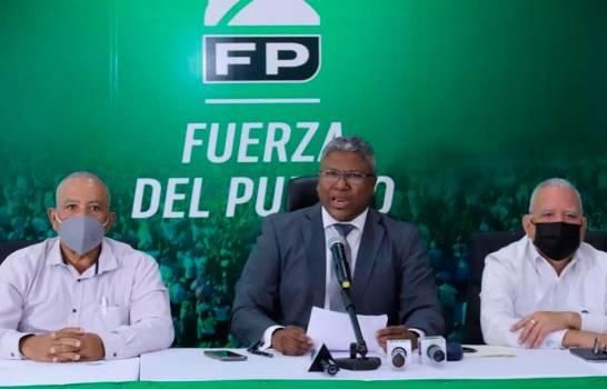 Fuerza del Pueblo pide al Gobierno a ponderar participación del sector sindical en reforma fiscal