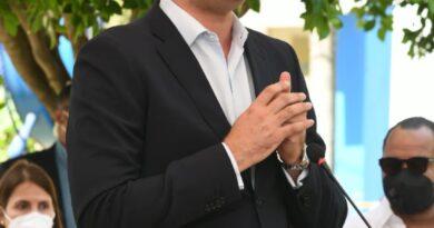 El director de PROMESE/CAL; Adolfo Pérez De León, participó en la inauguración del Centro de Atención y de Salud Mental de la Autoridad Portuaria Dominicana