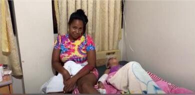 Joven narra como fue arrastrada junto a su hija en medio de un atraco