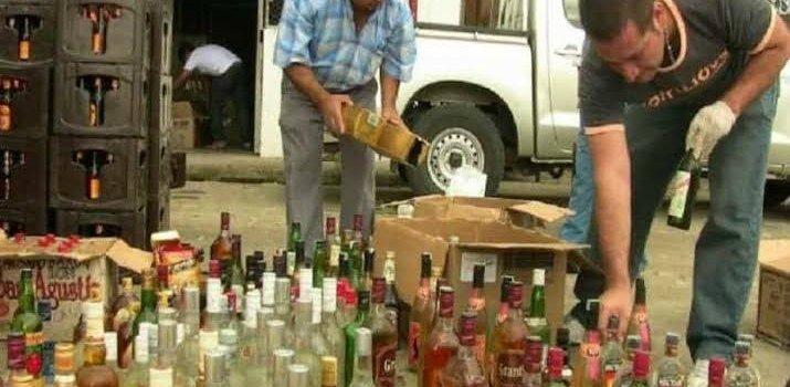 Más bebidas alcohólicas adulteradas
