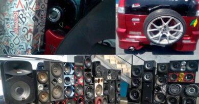 Policía fiscaliza 19 vehículos por contaminación sónica en SDE