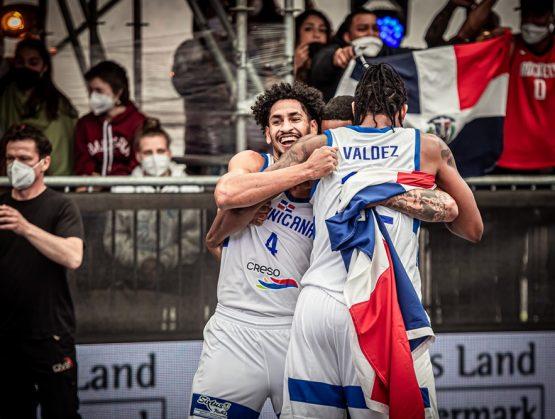 Basket 3×3 de RD supera a Eslovenia en clasificatorio olímpico