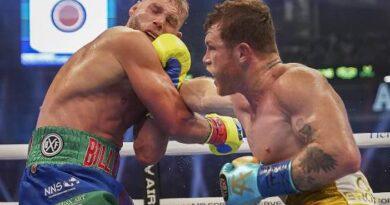 'Canelo' Álvarez noquea a Saunders y conquista otro título