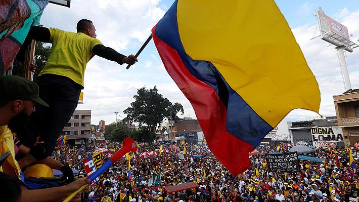 EE.UU. emplaza a Colombia a localizar a los desaparecidos en las protestas