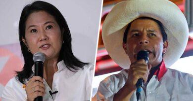 """Keiko Fujimori y Pedro Castillo condenan el """"cobarde ataque"""" de Sendero Luminoso que dejó 14 muertos en Perú"""