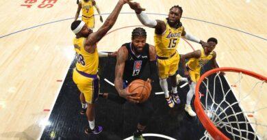 Paul George lidera exhibición de Clippers ante los diezmados Lakers