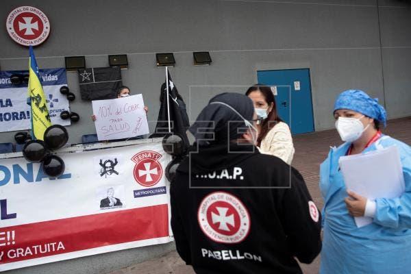 Más de 35.000 trabajadores se movilizan en Chile por una renta de emergencia