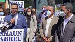 Con apoyo de Espaillat y otros líderes, el abogado dominico americano Shaun Abreu lanza candidatura a concejal en el distrito 7 de Manhattan