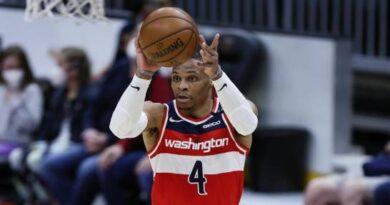 Russell Westbrook logra su 31er 'triple doble'; Wizards aplastan