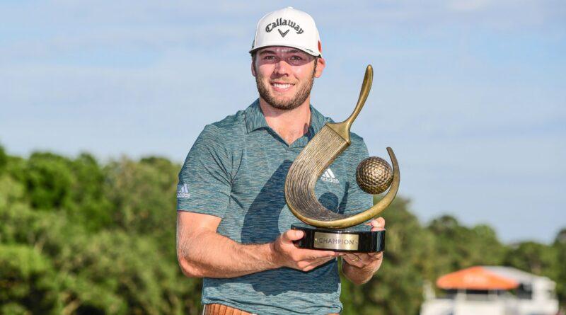 Sam Burns logra su primer título del PGA Tour a los 24 años
