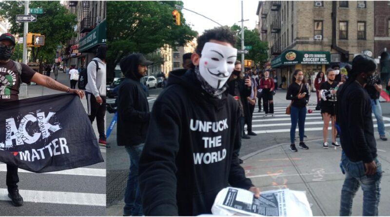 Black Lives Matter se moviliza en calles del Alto Manhattan contra brutalidad policial y asesinatos de civiles