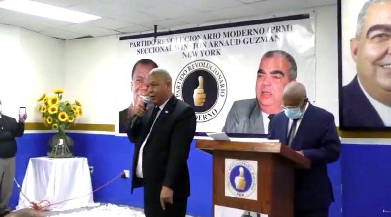 Presidente del PRM en Nueva York conmina a ministros abrir puertas a perremeístas que son sostén del Gobierno del cambio
