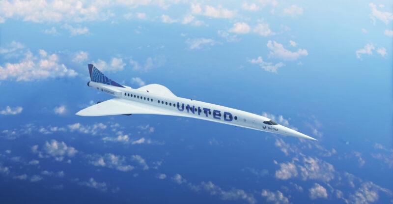 United Airlines forja un pacto para los aviones de pasajeros Boom Supersonic