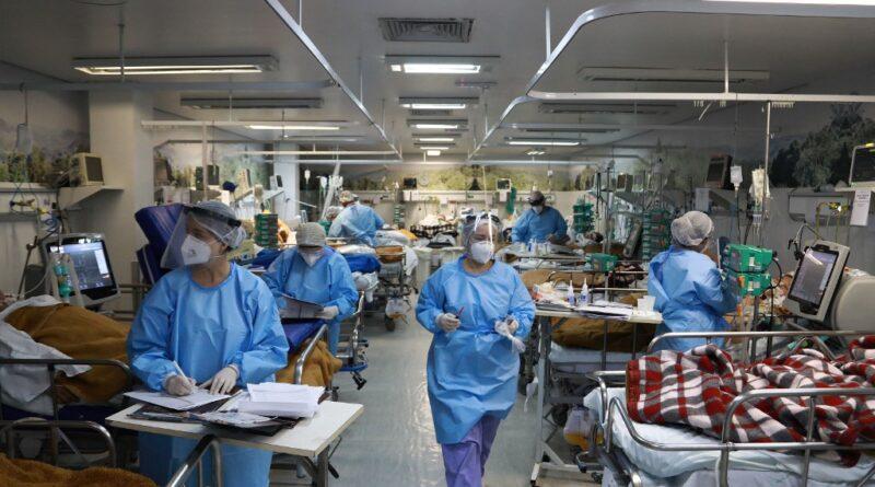66% camas UCI públicas GSD ocupado por pacientes graves