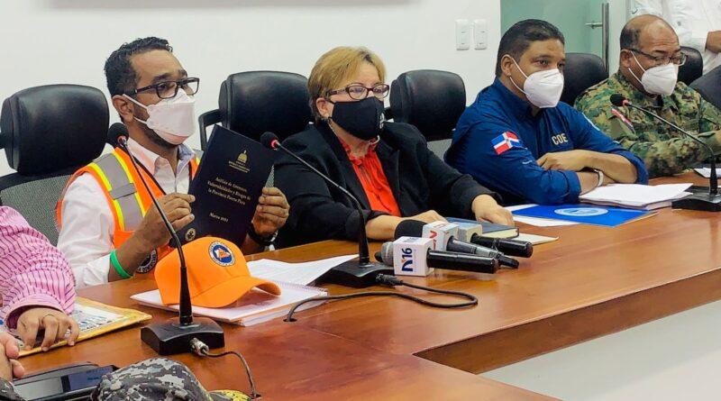 DEFENSA CIVIL DARÁ A CONOCER A AUTORIDADES LOCALES AMENAZAS PARTICULARES DE CADA PROVINCIA DE CARA A TEMPORADA CICLÓNICA 2021