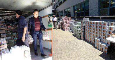 Diputado Norberto Rodríguez apadrina distribución de alimentos en el Hospital Metropolitano de NYC