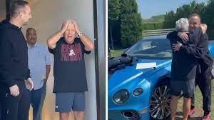 El dueño de los Patriots, Robert Kraft, le regaló a Bentley por su 80 cumpleaños por Jay-Z, Meek Mill
