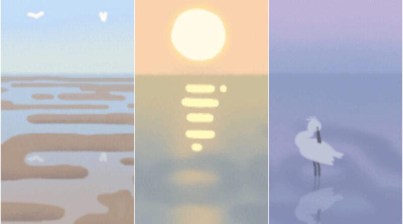 El mar de Wadden: Google honra la maravilla natural con un garabato