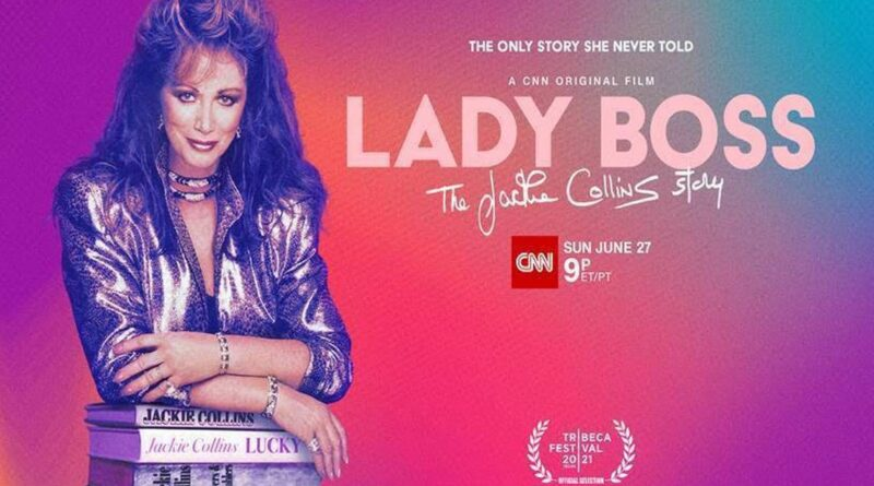 Esto es lo que le sucedió a la novelista Jackie Collins, el foco de 'Lady Boss' de CNN