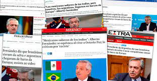 Fuerte repercusión en los medios de Brasil y México tras la polémica cita de Alberto Fernández