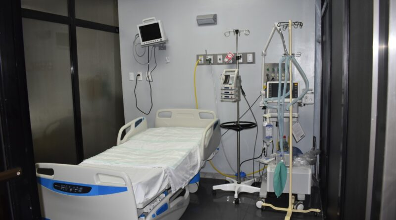 Gobierno amplía a 49 cantidad de camas COVID-19 en Hospital de la Policía
