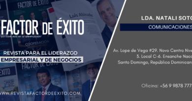 Lanzamiento Revista factor de Éxito Internacional.
