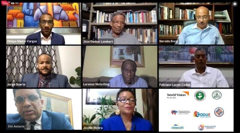 Líderes evangélicos reafirman compromiso en su lucha contra el covid-19, llaman a la población a vacunarse
