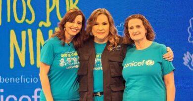Teletón de Unicef recauda más de tres millones para apoyar programas por la infancia