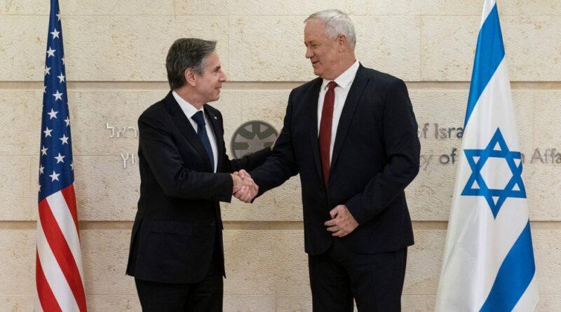 Blinken se reunió con el ministro de Defensa de Israel: Irán y Hamas, temas centrales del encuentro