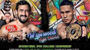 "Peruano Rayo a defender el ""International Open Challenge World Championship"" ante luchador chileno, Ariel Levy"